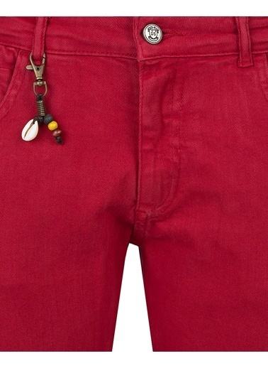 D'S Damat Pantolon Kırmızı